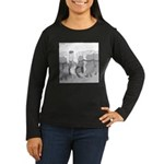 Taquito (no text) Women's Long Sleeve Dark T-Shirt
