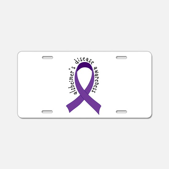 Alzheimers Disease Awareness License Plate