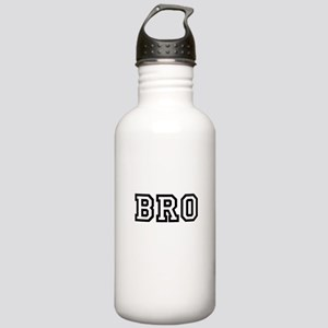 Bro College Letters Stainless Water Bottle 1.0L