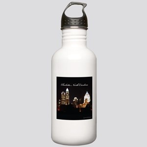 Charlotte, North Carolina Stainless Water Bottle 1