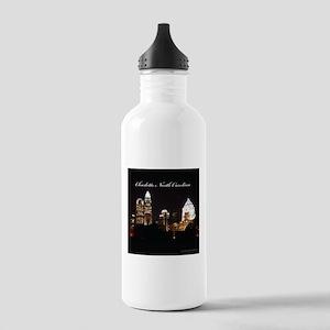 Charlotte, North Carolina Stainless Water Bottle 1