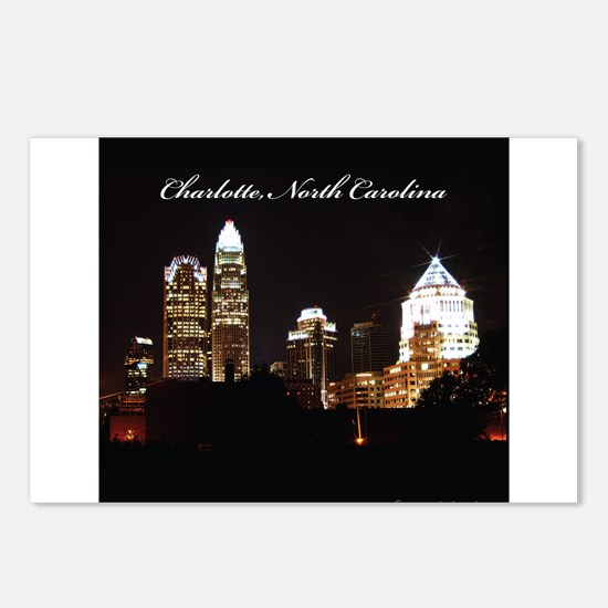 Charlotte, North Carolina Postcards (Package of 8)