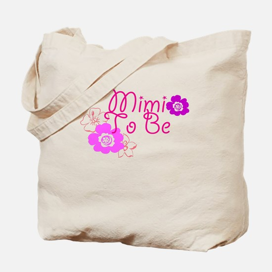 Mimi To Be Flowers Tote Bag
