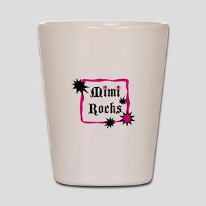 Mimi Rocks Shot Glass