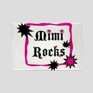 Mimi Rocks Rectangle Magnet