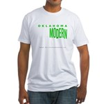 Oklahoma Modern Fitted T-Shirt