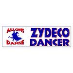 Zydeco Joe Bumper Sticker