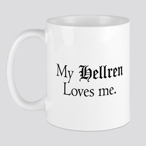 My Hellran Loves Me Ceramic Mug Mugs