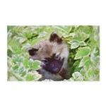 Keeshond Puppy Area Rug
