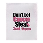 Support Second Base Throw Blanket