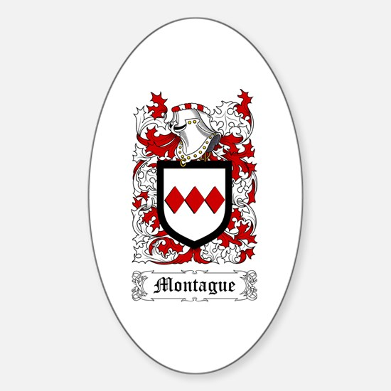 Montague Sticker (Oval)
