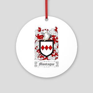 Montague Ornament (Round)
