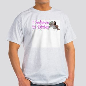 I Believe in Fairies Ash Grey T-Shirt