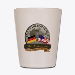 Fall of the Wall Shot Glass