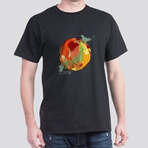 LOOKING THROUGH THE FISH BOWL Dark T-Shirt