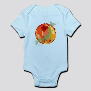 LOOKING THROUGH THE FISH BOWL Infant Bodysuit