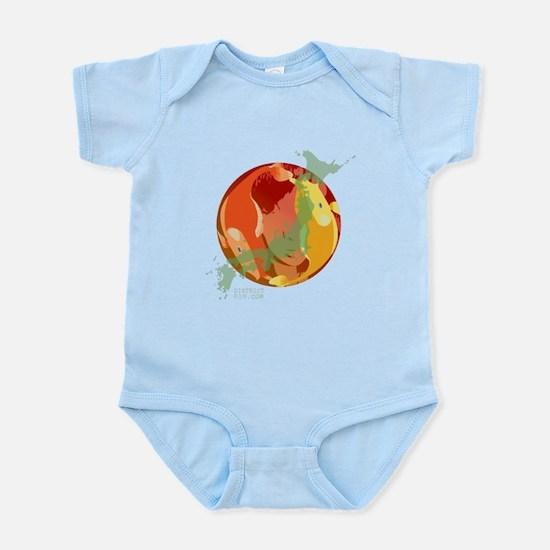 LOOKING THROUGH THE FISH BOWL Infant Bodysuit