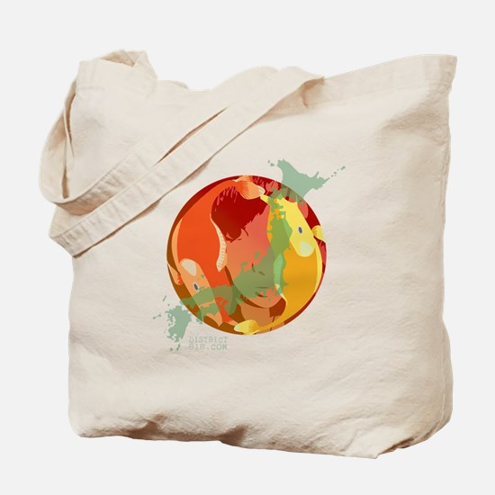 LOOKING THROUGH THE FISH BOWL Tote Bag