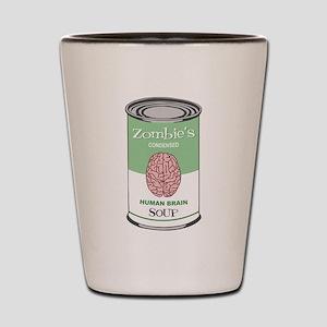 Zombie Human Brain Soup Shot Glass