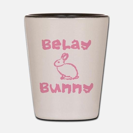 Belay Bunny Shot Glass