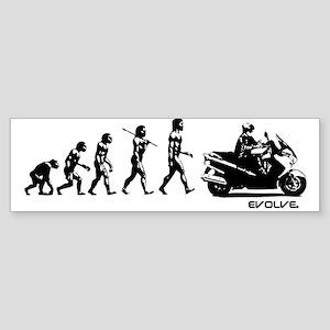 SUZUKI BURGMAN EVOLUTION Sticker (Bumper)