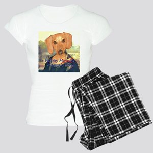 Happy Mona's Day Dachshund Women's Light Pajamas