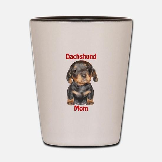 Dachshund Mom Puppy Shot Glass