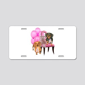 Cure Doxies Aluminum License Plate