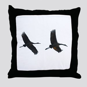 As The Bird Flies Throw Pillow