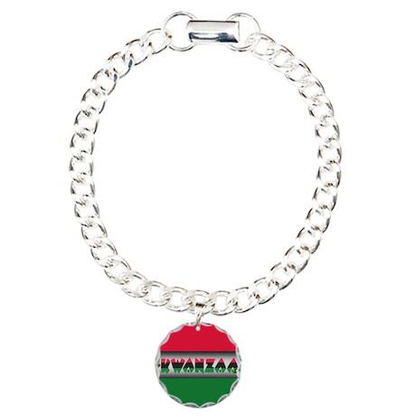 Kwanzza Charm Bracelet, One Charm