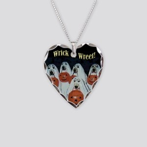 Wrick or Wreet Necklace Heart Charm