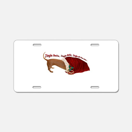 Toy Bag Aluminum License Plate