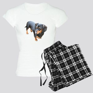 'Lily Dachshund Dog' Women's Light Pajamas