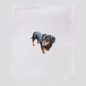'Lily Dachshund Dog' Throw Blanket