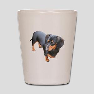 'Lily Dachshund Dog' Shot Glass