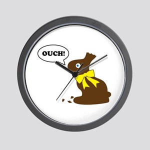 Bunny Ouch Wall Clock