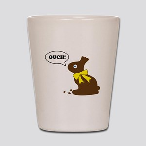 Bunny Ouch Shot Glass
