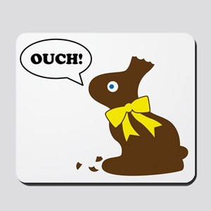 Bunny Ouch Mousepad