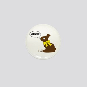 Bunny Ouch Mini Button