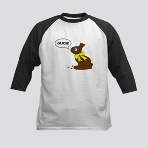 Bunny Ouch Kids Baseball Jersey