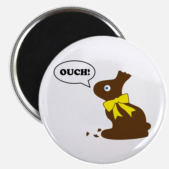 """Bunny Ouch 2.25"""" Magnet (100 pack)"""