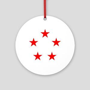 FIVE STAR GENERAL II Ornament (Round)