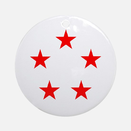 FIVE STAR GENERAL II Ornament (Round)