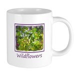 Maine Impasto WIldflowers 20 oz Ceramic Mega Mug