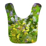 Maine Impasto WIldflowers Polyester Baby Bib