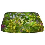 Maine Impasto WIldflowers Bathmat