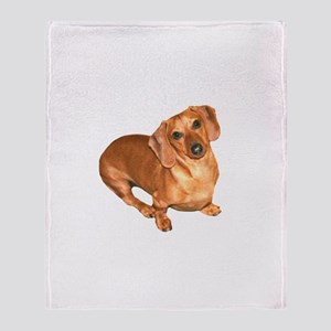 Tiger Doxie Throw Blanket