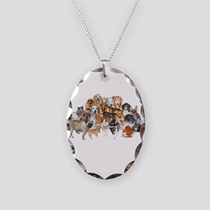Other Dogs and Cats Necklace Oval Charm
