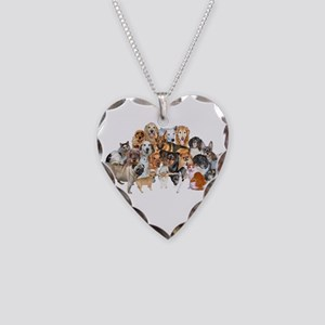 Other Dogs and Cats Necklace Heart Charm