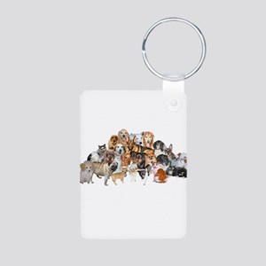 Other Dogs and Cats Aluminum Photo Keychain